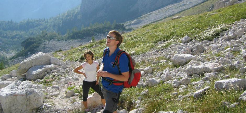 Trekking in Kamnik Savinja Alps