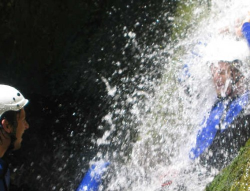 Canyoning in Cuc Waterfall