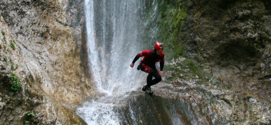 Canyoning Globosak, Slovenia