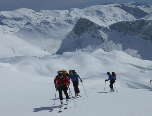 Two-day skiing tour on the Dleskovska plateau