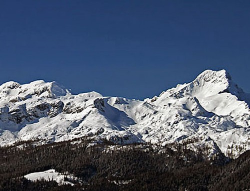 Rogatec mountain in winter (1550m)